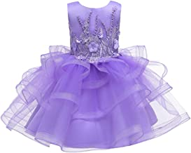 Lazapa Princess Tutu Dress for 2T-10T Girls, Lace Multi-Layer Mesh Cupcake Dress Prom Party Gown Lightweight Tulle Dress