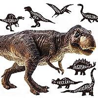 ウォールステッカー 恐竜 ダイナソー MU3 日本製 ティラノザウルス シール 壁紙 風呂 ドア トイレ