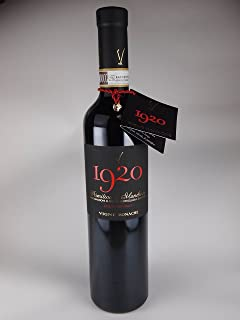 イタリア・プーリア 赤ワイン 【1920】500ml プリミティーヴォ Primitivo di Manduria dolce naturale DOCG 2013年
