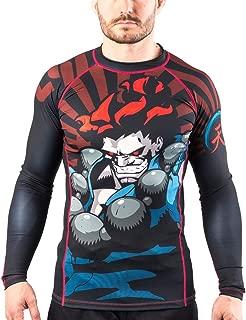 Fusion Fight Gear Street Fighter Akuma Compression Shirt BJJ Rash Guard