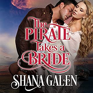 The Pirate Takes a Bride audiobook cover art