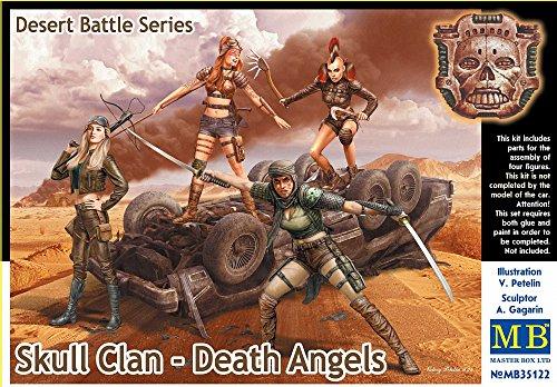 Master Box MB35122 - 1/35 Desert Battle Series, Skull Clan-Death Angels