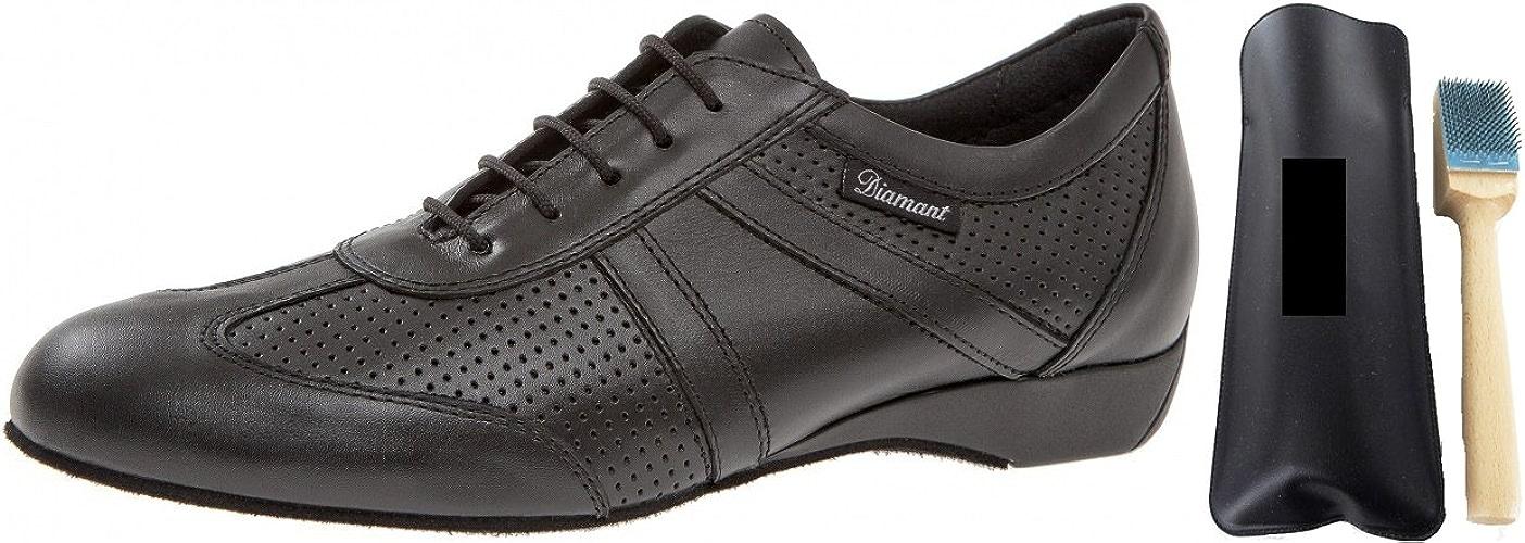 Diahommet 133–225–042Homme Chaussures de Danse + MC de Danse aufrauh Brosse