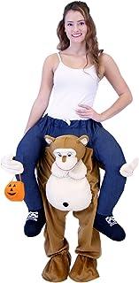 Costume Agent ピギーバックライド?オンコスチューム、猿、 モンキー