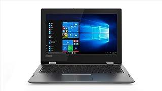 Lenovo Yoga 330-11IGM - Ordenador portátil Convertible de 11,6 HD (Intel Celeron N4000, 4GB RAM, 128GB SSD, Windows 10) Gris Teclado QWERTY español
