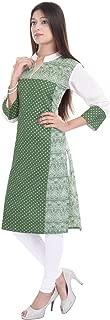 Indian Women's Printed Cotton Kurti Top