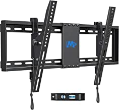 """Mounting Dream Tilt TV Wall Mount for Most 42-70 Inches TVs, TV Mount with Post Installation Leveling Fits 16"""", 18"""", 24"""" S..."""