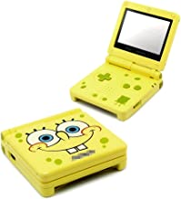 rusaaKKMODS Spongebob Squarepants Edition Game Boy Advance SP Shell Housing Complete Replacement Part