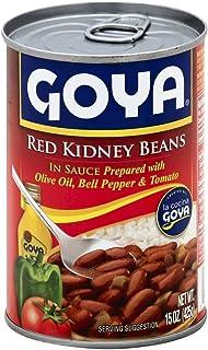 Goya Red Kidney Beans Guisadas 15.0 OZ(Pack of 6)