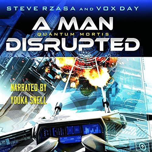 Quantum Mortis a Man Disrupted  By  cover art
