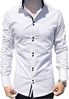 parth fashion Hub Men's Cotton Fancy Casual Full Sleeve Shirt