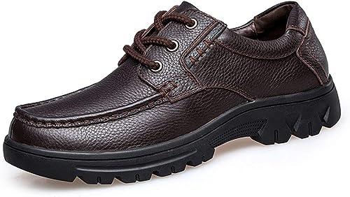 ZHRUI zapatos cómodos de Moda para Caminar para el Padre (Color   marrón, tamaño   7.5 UK)