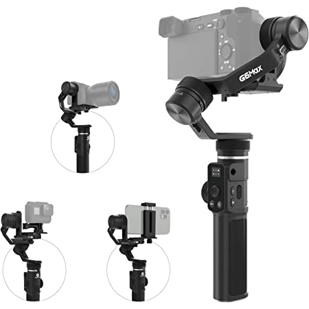Feiyutech G6 Max Upgraded 3 Achsen Stabilisierter Kamera