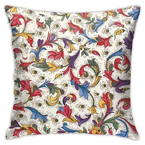 Cup Off Fundas de Almohada de Tiro, decoración Italiana del hogar del sofá de Las Fundas de Almohada del Cuadrado del cojín Decorativo