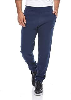 Rib Cuff Pants For Men - Blue M