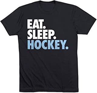 Eat Sleep Hockey T-Shirt   Hockey Tees by ChalkTalk SPORTS   Multiple Colors T-Shirt   Hockey Tees by ChalkTalk SPORTS