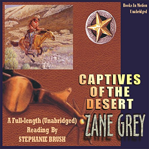 Captives of the Desert audiobook cover art