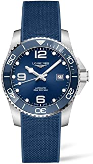 HydroConquest Ceramic Blue Dial 41mm Automatic Diving Watch