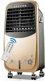 LSX Aire Acondicionado y Calentador portátiles con teledirigido teledirigido 3-Speed, Aire purificador del anión, Tanque de Agua 4.5L, 7.5H sincronización Ventilador