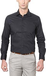 Peter England Black Shirt