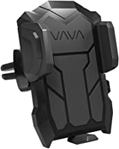 VAVA VA-SH022 US Phone Holder for Car Air Vent, Car Phone Mount Cradle Compatible with iPhone Xs Max XR X 8 7 Plus Galaxy S9 S8 Plus Note 9 8 and More, Black