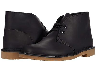 Clarks Bushacre 3 (Black Leather) Men