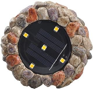 Wusad Solar Buried Lights 5 LED Outdoor Waterproof Solar Garden Lights for Outdoor in-Ground Lawn Yard Deck Patio Walkway