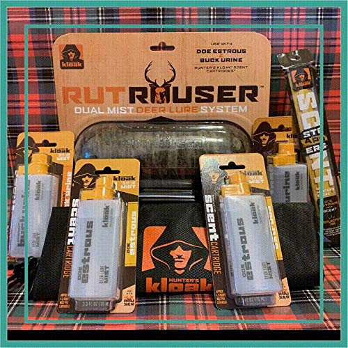 Best Price! Hunter's Kloak Rut Rouser Holiday Bundle