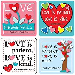 Love is Stickers for Children's Ministry