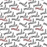 Pingianer 11,99€/m Smile Schriftzug100x160cm 100%