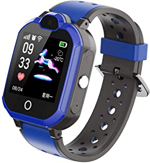UFonding Kids Smart Phone Watch Support 4G with Bluetooth GPS Video Call HD Touch Screen Waterproof for Girls Boys Android...