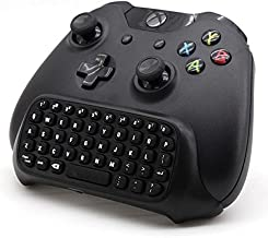 REYTID Wireless Mini Keyboard ChatPad for Xbox One 2.4G with 3.5mm Jack - Controller Gaming Message USB Game Keypad Gamepad