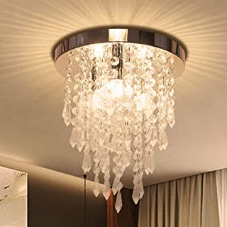 Amazon Com Crystal Chandeliers Ceiling Lights Tools Home