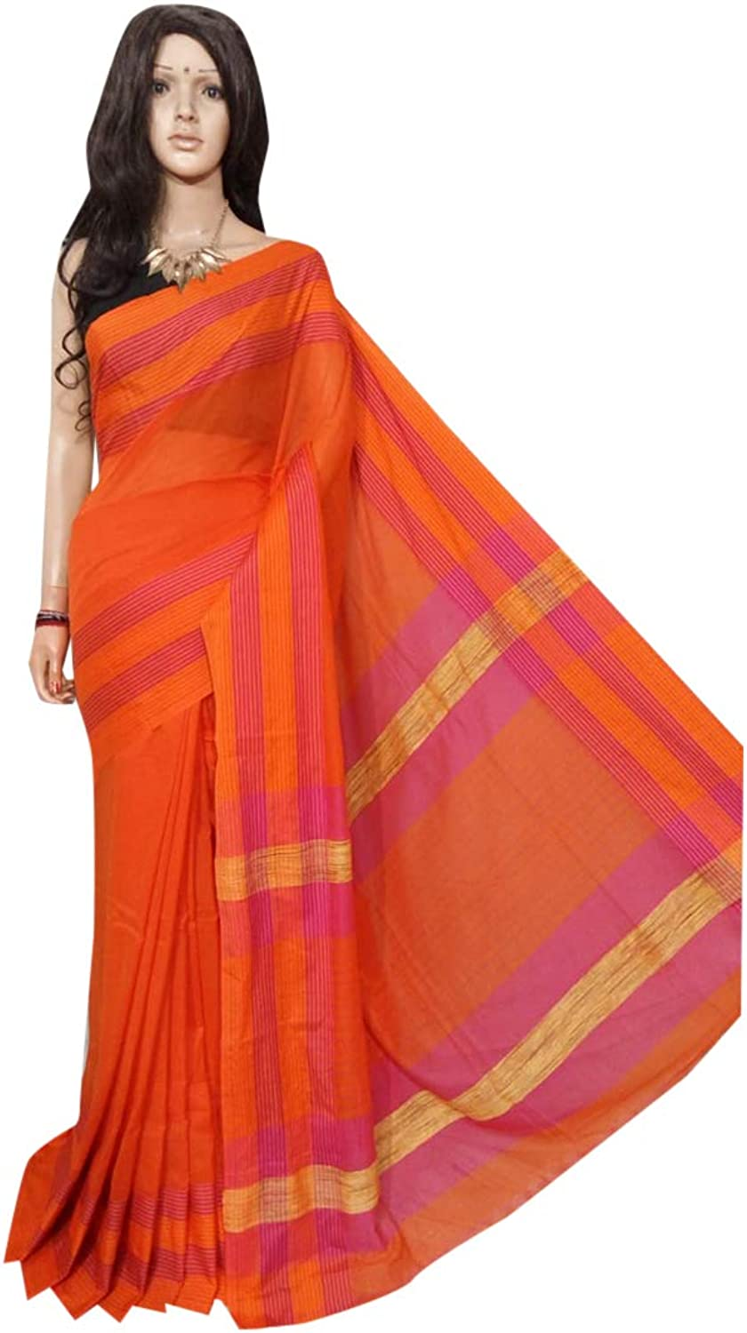Traditional handloom khadi Saree Full weaving work by weavers Bengal Women sari Indian Ethnic Festive saree 116 6