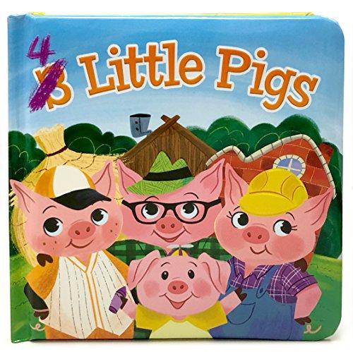 4 Little Pigs: Padded Board Book (Little Bird Stories)