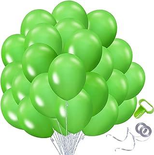108pcs Kosea Green Balloons For Parties 12inch Latex Ballons For Balloon Arch Garland Kit Globos De Cumpleaños Baby Shower...