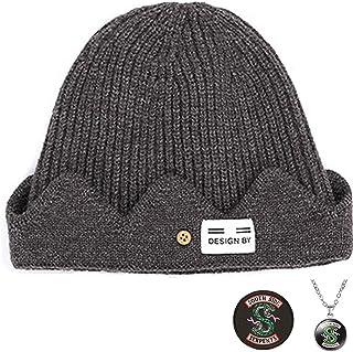 قبعة ليتسوين ريفرديل للسلع Jughead Jones التنكرية من ن - قبعة شتوية محبوكة للرجال والنساء - بني