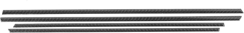 Tbest Interior Door store Panel Strip Pane Trim Car 4Pcs Very popular