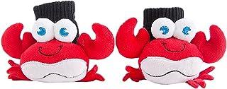 BESTOYARD, Bebé Infantiles Algodón Calcetines niños Calcetines de invierno juguete regalo peluche para muchachas chicos (cangrejo)