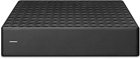 Seagate 外接硬盘 8TB 电视录像/4K适用 附3年 PS5/PS4 操作确认 静音 Expansion HDD STEB8000301