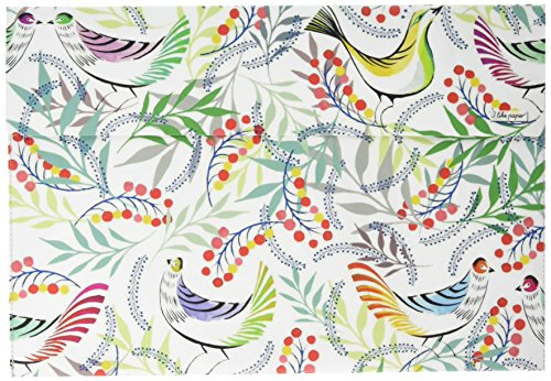 I als paper Florality Bird 33 cm (13 inch) Tyvek Case voor Macbook Air/Pro