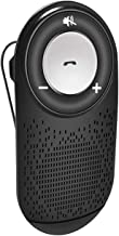 Bluetooth Hand-Free car Speaker kit,Wireless car Speakerphone for Cell Phone,HD Clear in-car Speaker kit and with Build-in mic,Support Google Assistant and Connect 2 Cell Phones,with Sun Visor Clip
