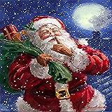 Geiqianjiumai Bild Leinwand Malerei Moderne Hauptdekoration Wand Kunstdruck Weihnachten und Santa...