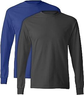 Hanes Tagless Long-Sleeve T-Shirt (Set of 2)