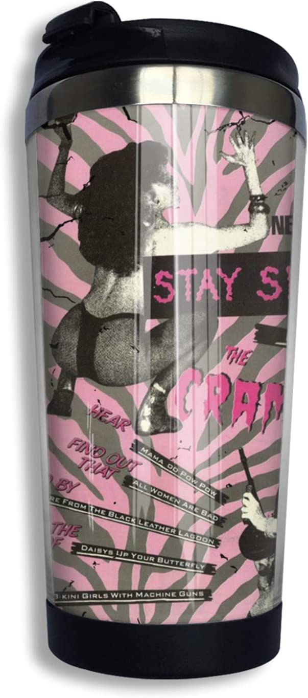 The Cramps Insulated Tumblers Coffee Travel With Super sale period limited New sales Mug Cup Lid For