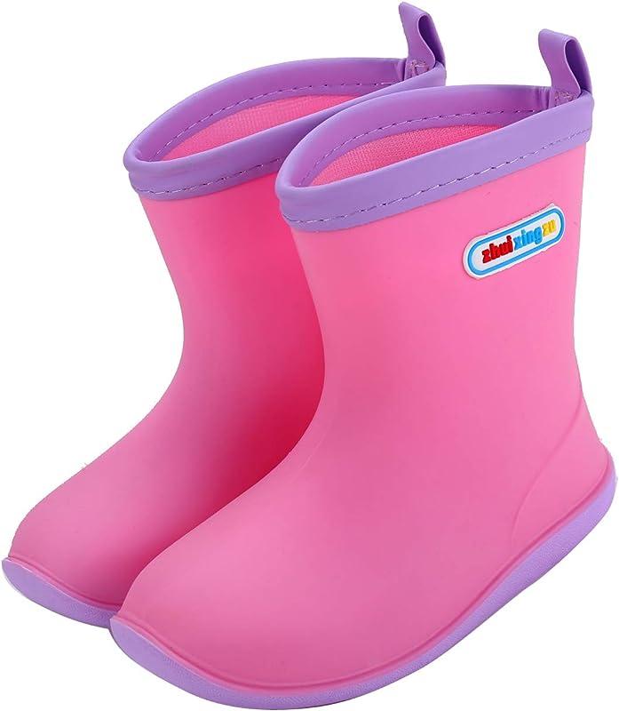 1ef13d2b9b725  Fineme  キッズレインブーツ女の子男の子子供レインシューズ長靴可愛い防水軽量男女兼用ジュニア滑り止め梅雨対策