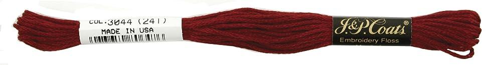 Coats Crochet 6-Strand Embroidery Floss, Dark Garnet, 24-Pack d682595283