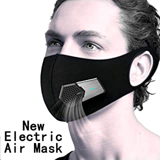 Dustproof Elecitic Air Masks for Allergy Activated Dust Mask with Fan Filter Cotton Sheet and Valves face masks for dust for Smoke Protection Exhaust Pollen PM2.5 Pollution Respiratory Masks