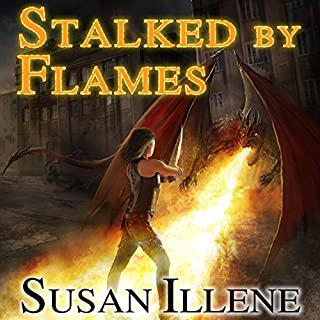 Stalked by Flames audiobook cover art