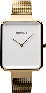 BERING Time 14528-334 Watch Women Classic Collection with Stainless-Steel Strap and Highly Scratch-Resistant Sapphire Crystal. Designed in Denmark
